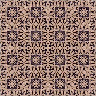 Бесшовный узор, текстиль, упаковка. изысканный цветочный барокко