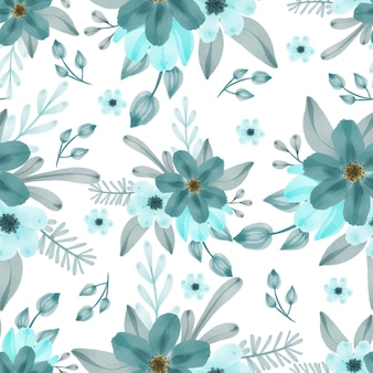 Seamless pattern of tosca flower