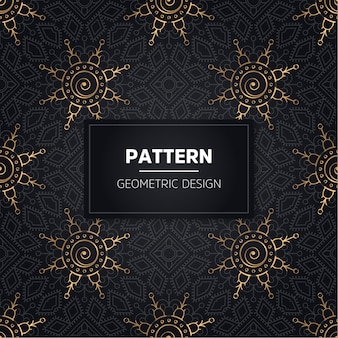Seamless pattern. vintage decorative elements. hand drawn background