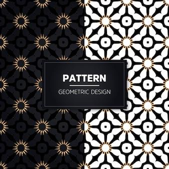 Seamless pattern. vintage decorative elements. hand drawn golden ornaments.