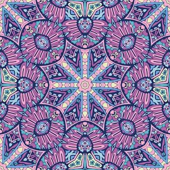 원활한 패턴입니다. 빈티지 장식 요소. 손으로 그린 된 패턴