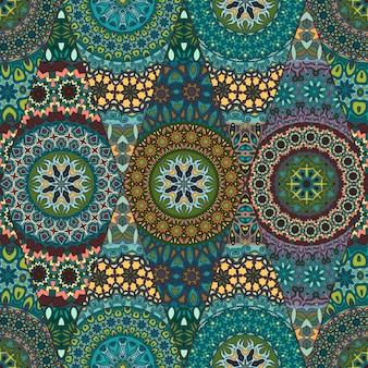 Seamless pattern. vintage decorative elements