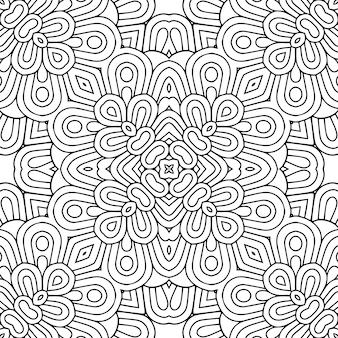 シームレスパターン。ヴィンテージの装飾的な要素