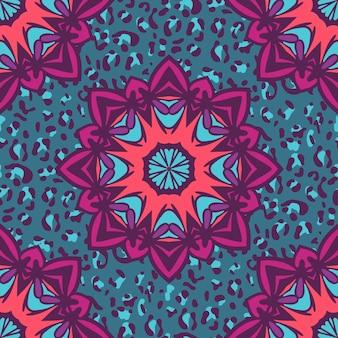 シームレスパターン。ヴィンテージの装飾的な要素。