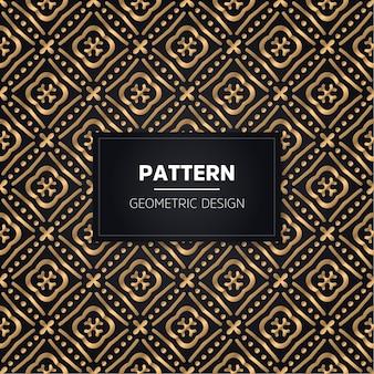Seamless pattern. vintage decorative golden ornamental.