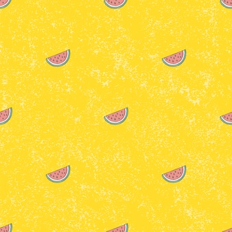 Seamless pattern water melon background.