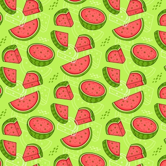 Seamless pattern di angurie