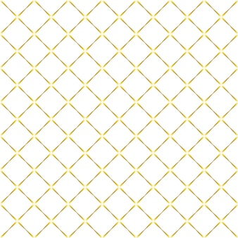 Seamless pattern in white and gold colors.
