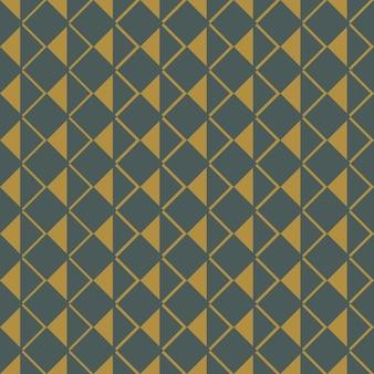 Бесшовный фон с абстрактными фигурами из квадратов, треугольников и ромбов