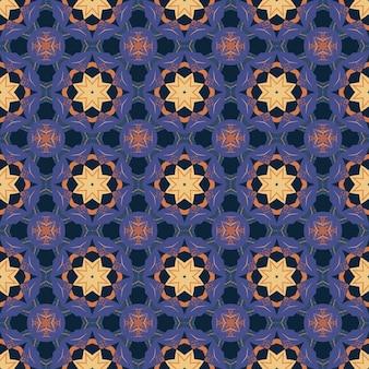 추상적 인 만다라 장식 풍의 완벽 한 패턴입니다.