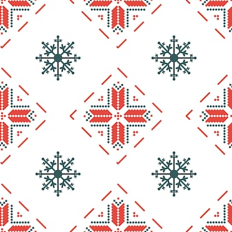 歴史的な赤と白の色のベラルーシの伝統的な装飾とのシームレスなパターン。