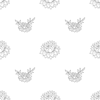 Flower Outline Vectors Photos And Psd Files Free Download