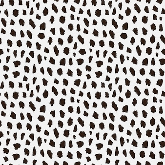 Seamless pattern with cheetah skin.