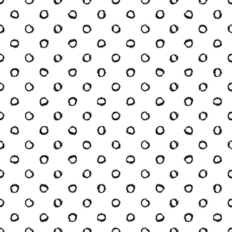 Seamless pattern with circles  vector illustration