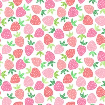 Бесшовный фон с красочными фруктами для текстильного дизайна. летний фон в ярких тонах. рисованной модные векторные иллюстрации.