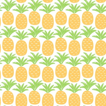 Seamless pattern with colorful fruits for textile design. summer background in bright colors. hand-drawn trendy vector illustration.
