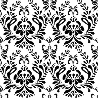 Seamless pattern with floral background.