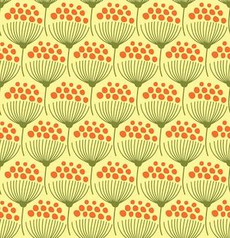 꽃과 함께 완벽 한 패턴