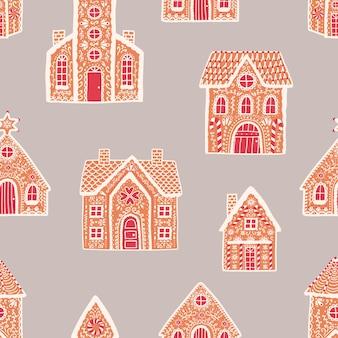 빛에 진저 하우스와 완벽 한 패턴