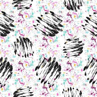 그런 지 짜임새를 가진 완벽 한 패턴입니다. 손으로 그린 패션 hipster 배경