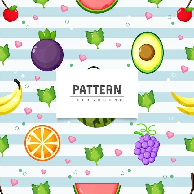 健康食品とのシームレスなパターン