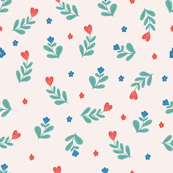 Seamless   pattern with hearts.   valentine's day.