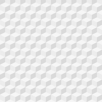 Seamless pattern with isometric cubes