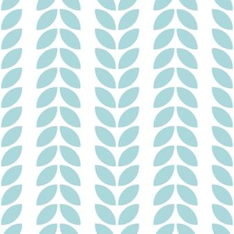 葉とのシームレスなパターン