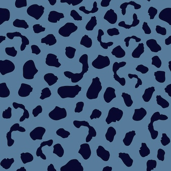 Seamless pattern with leopard skin. abstract animal fur wallpaper.