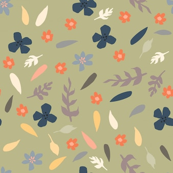 Seamless pattern with little flowers. the concept for textiles, wrappings, wallpapers