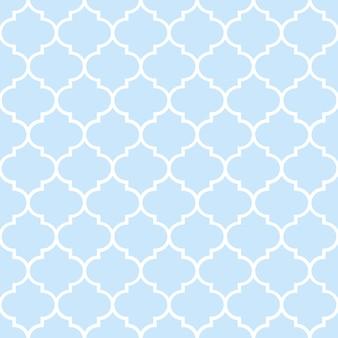 モロッコのタイルとのシームレスなパターン