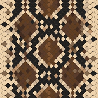 Seamless pattern with natural python print