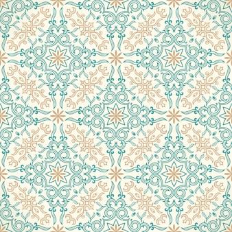 飾りのデザインとのシームレスなパターン