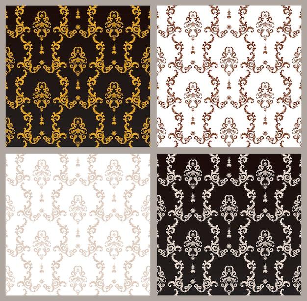 飾りセットとのシームレスなパターン