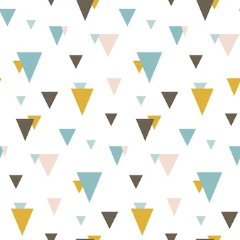 임의의 삼각형으로 완벽 한 패턴