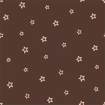 自由奔放に生きる色の星とのシームレスなパターン