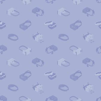 가상 현실 헤드셋과의 원활한 패턴