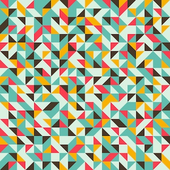 Seamless pattern with triangles and rhombuses.