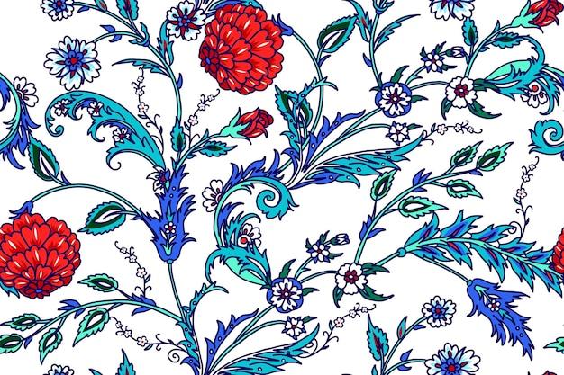 터키 동기와 원활한 패턴