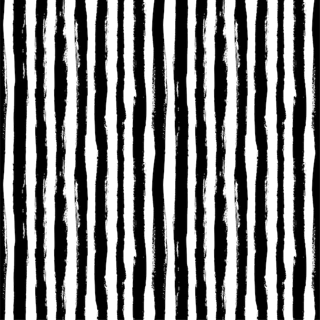 Seamless pattern with vertical grunge stripes. modern monochrome texture.