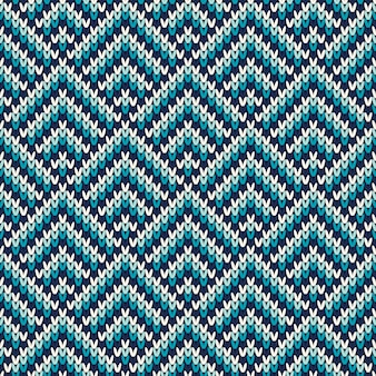 Seamless pattern on the wool knitted texture