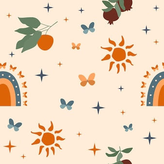 Seamless pattern wrapping paper wallpaper