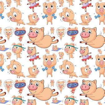 シームレス豚