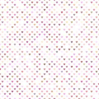 Seamless pink heart pattern background design