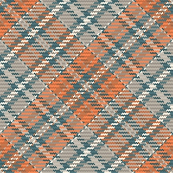 フランネルシャツ、毛布、スローまたは他のモダンなテキスタイルデザインのシームレスな格子縞のパターンベクトルの背景。