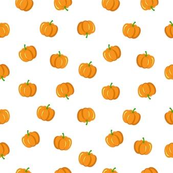 Seamless pumpkin icon. pumpkin  pattern background