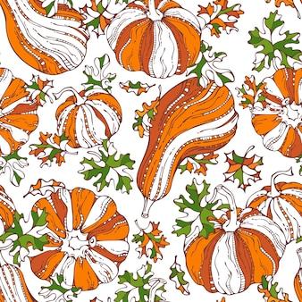 원활한 호박 패턴