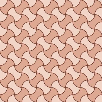 シームレスなレトロな伝統的なアートテキスタイルパターン