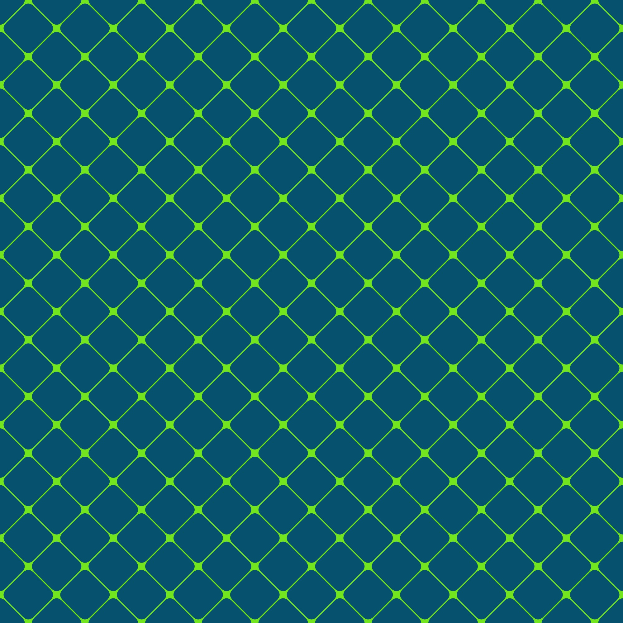 Seamless rounded square grid pattern background - vector design from diagonal squares