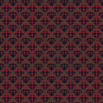 Seamless simple chinese pattern